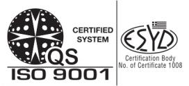 Net-Admin è CONFORME ISO 9001:2015