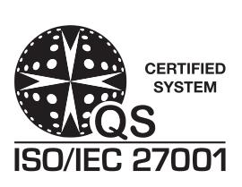 Net-Admin è CONFORME ISO 27001:2013